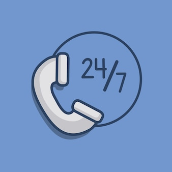 Значок телефона значок