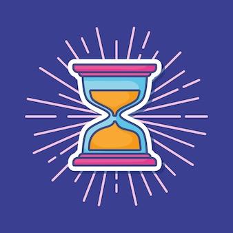 Значок значка песочных часов