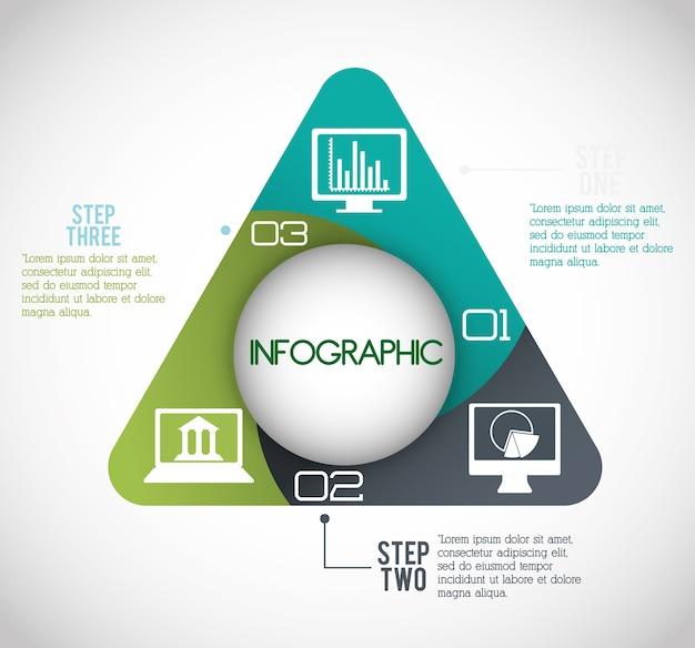 インフォグラフィックアイコンのデザイン