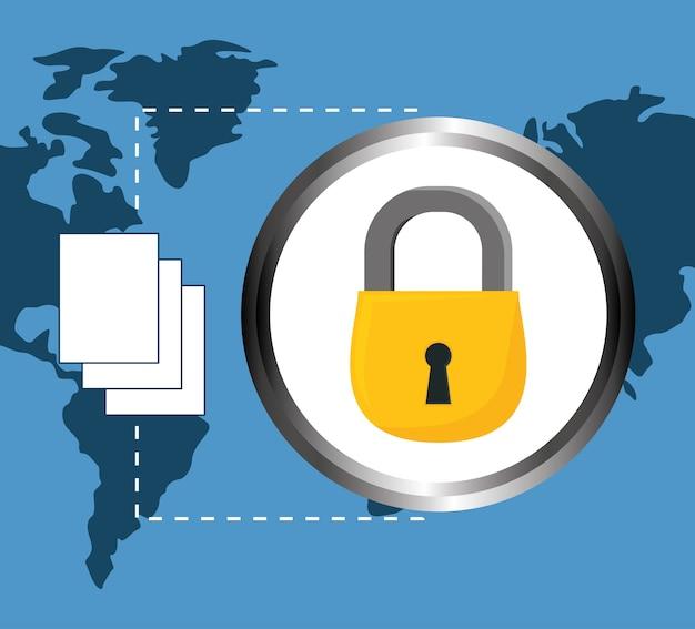 ドキュメントデータセンター関連のロック