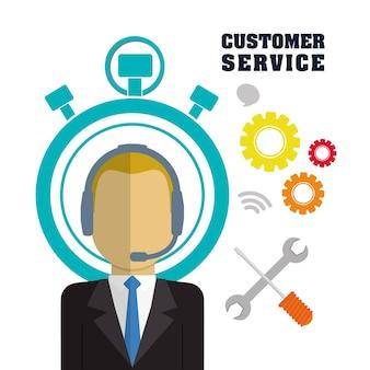 Иконки службы поддержки клиентов
