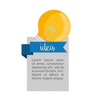 ビッグアイデアのインフォグラフィックデザイン