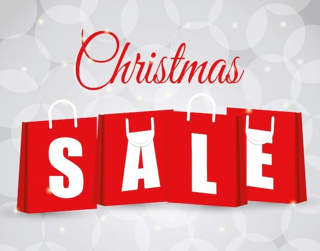 Покупки рождественские предложения и скидки сезон