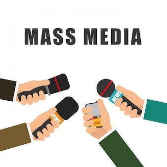ニュースメディアと放送