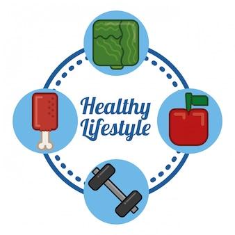 健康的なライフスタイルのデザイン