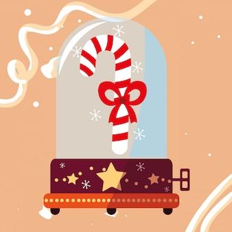 クリスマスオルゴールデザイン