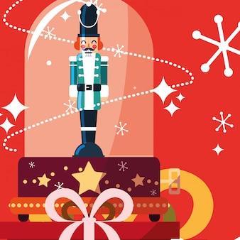 クリスマスオルゴールのデザイン