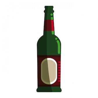 ビール瓶のデザイン