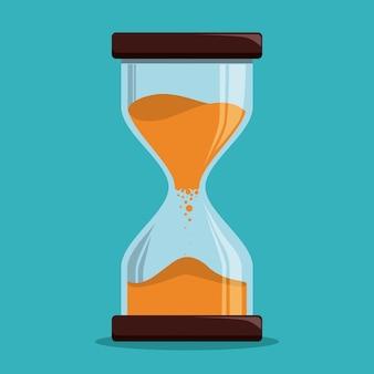 時間デザイン、ベクトル図。
