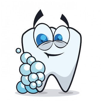 歯科デザイン、ベクトル図。