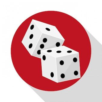 カジノのアイコンデザイン