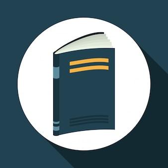 Дизайн иконок книг и электронного обучения