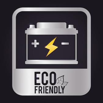 エコロジーアイコンデザイン