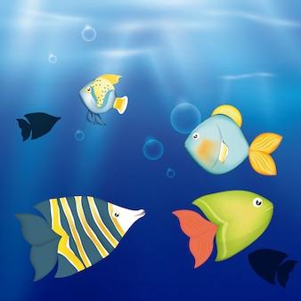 Рыбный дизайн.