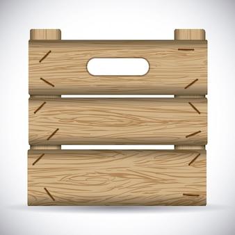 木のデザイン。