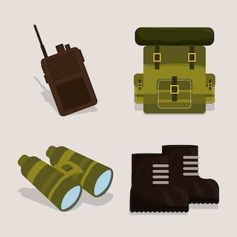 Армия дизайн иллюстрация