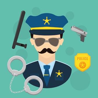 警察デザイン