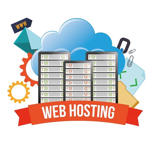 Дизайн веб-хостинга