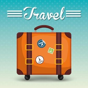 Дизайн путешествия отпуск.