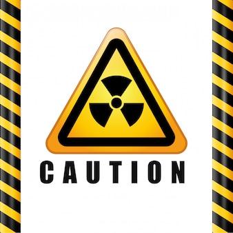 警告サインデザイン