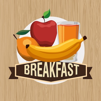 朝食デザイン