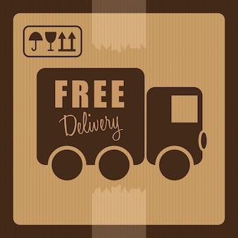 Бесплатная доставка дизайн