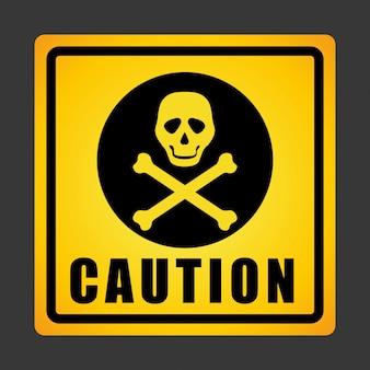Дизайн предупреждающего знака