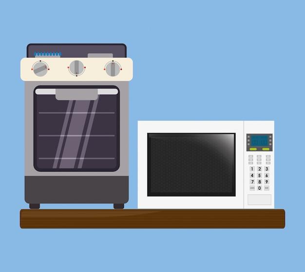 ホームキッチンのアイコンデザイン