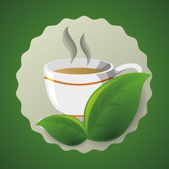 Время чая дизайн