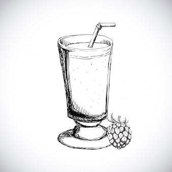 フルーツジュースのデザイン
