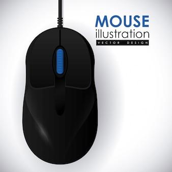 マウスアイコンデザイン