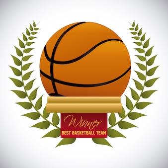 バスケットボールデザイン