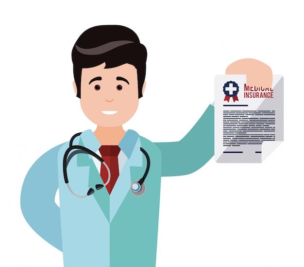 Дизайн медицинского страхования.