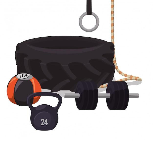 Тренажерный зал и фитнес-дизайн