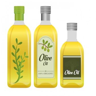 Оливковое масло дизайн.