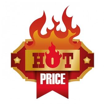 熱い販売デザイン