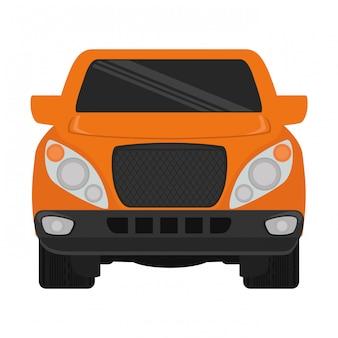 車のクリップアート画像