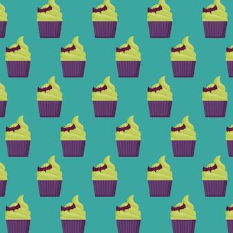 ハロウィンケーキのパターン