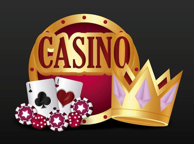 カジノ関連のアイコン