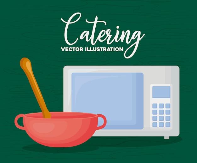 ケータリングと料理