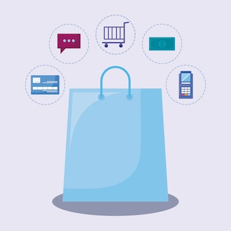 Маркетинг в социальных сетях с корзиной покупок