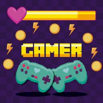 古典的なビデオゲームのコントロール