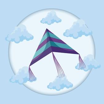 Воздушный змей в небе