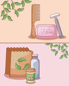 髪の櫛木製生態とセット