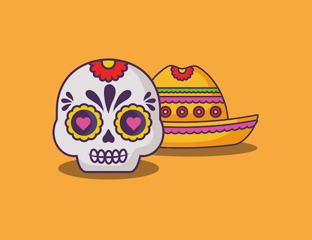 メキシコのシュガースカル