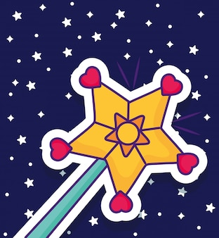 魔法の杖のアイコン