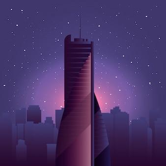Небоскреб городской город город небо