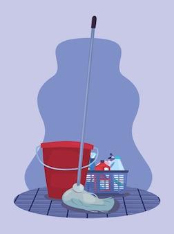 Чистящие средства и материалы