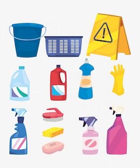 クリーニング製品と消耗品