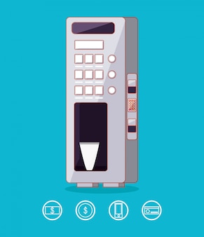 飲料機電子のディスペンサー